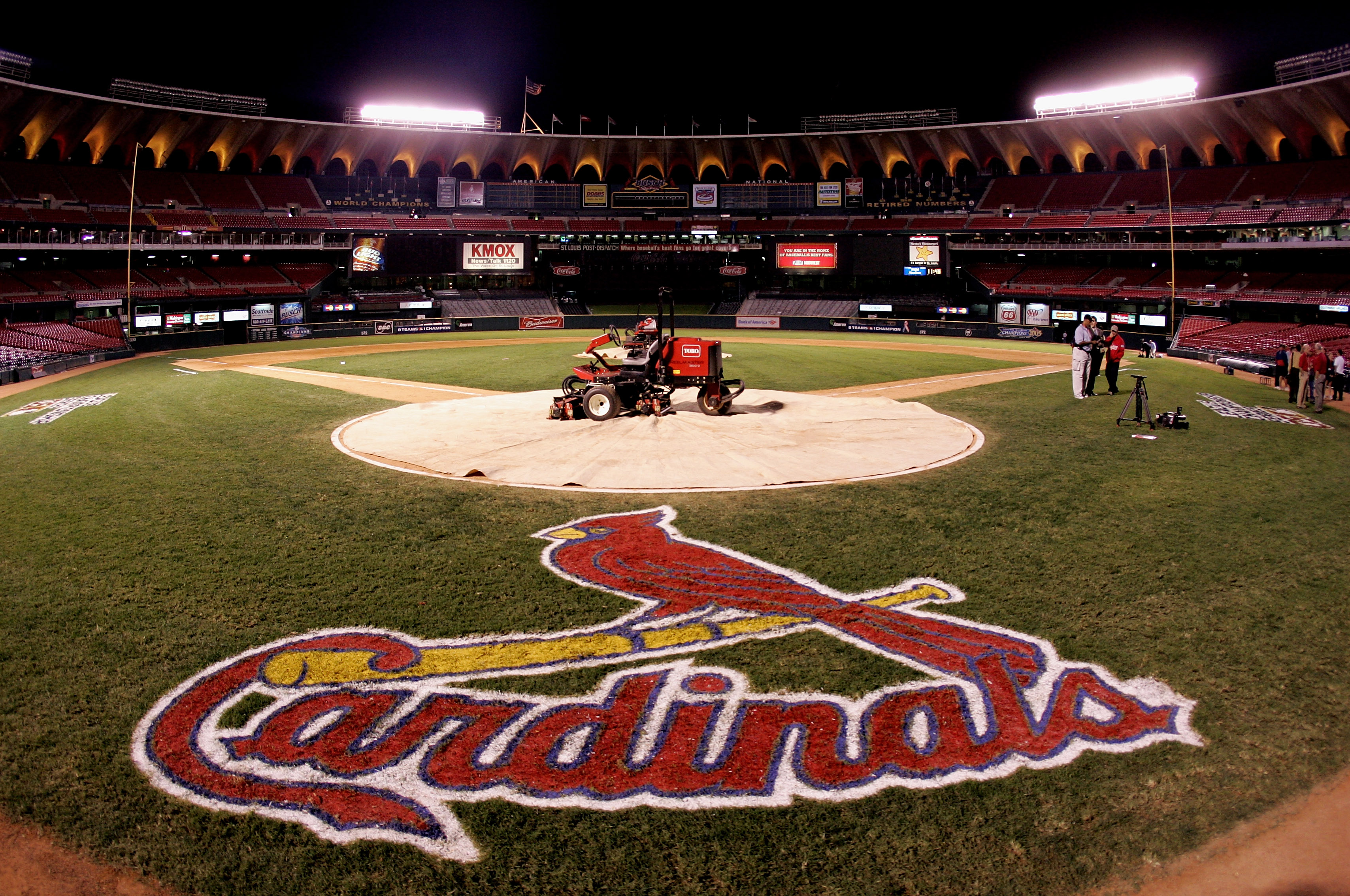 Image of the Cardinals' home field