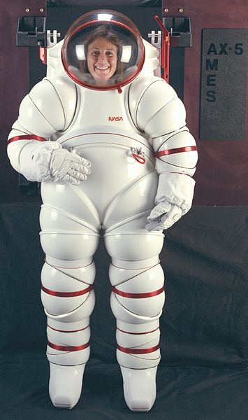 AX-5 hard-shell space suit