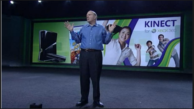 Microsoft CEO Steve Ballmer says over 8 million Kinect units have been sold.