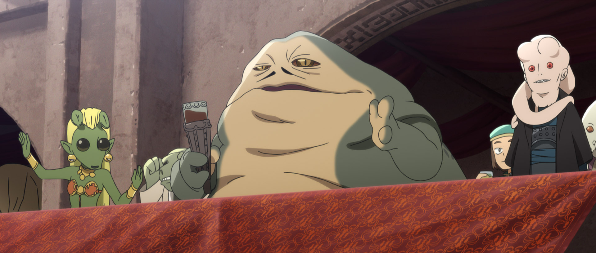Jabba in Star Wars: Visions
