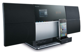 The Pioneer X-SMC3-S AirPlay Music System.