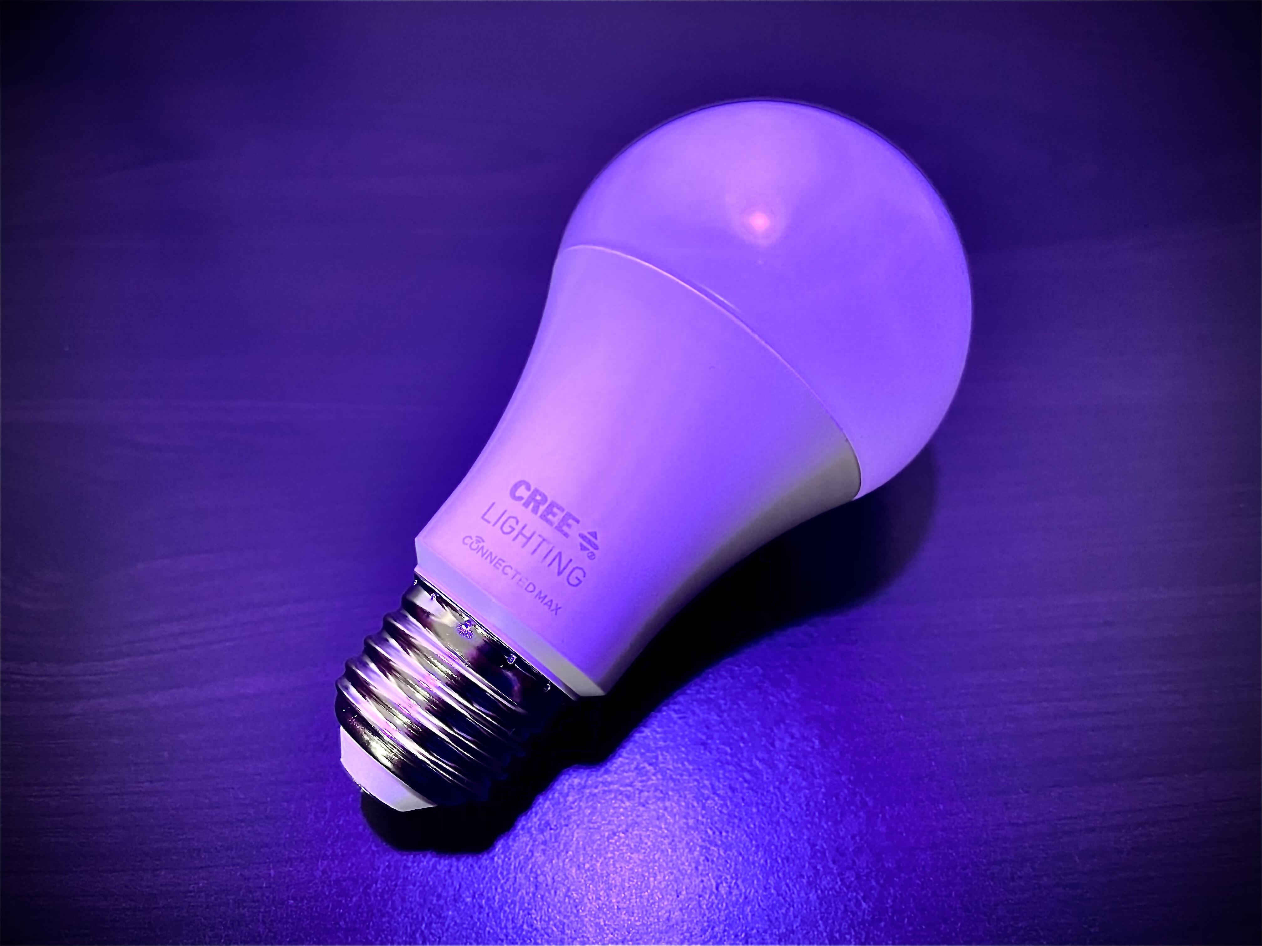 <p>Cree's new line of hub-free smart bulbs include a color-changing 100W-replacement bulb as well as indoor and outdoor floodlights.</p>