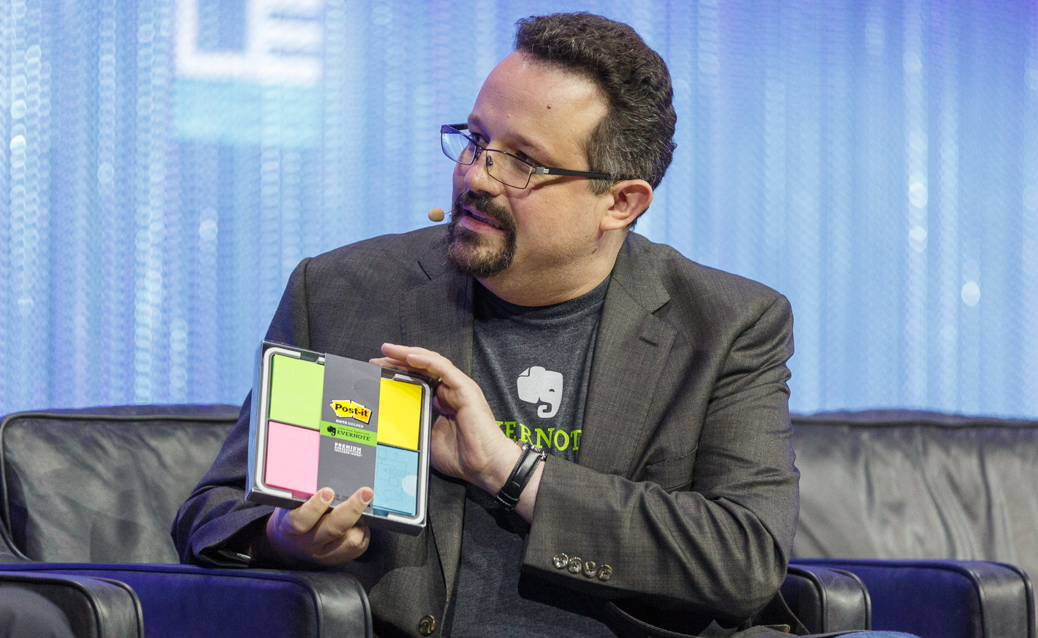 Evernote CEO Phil Libin speaking at LeWeb 2013