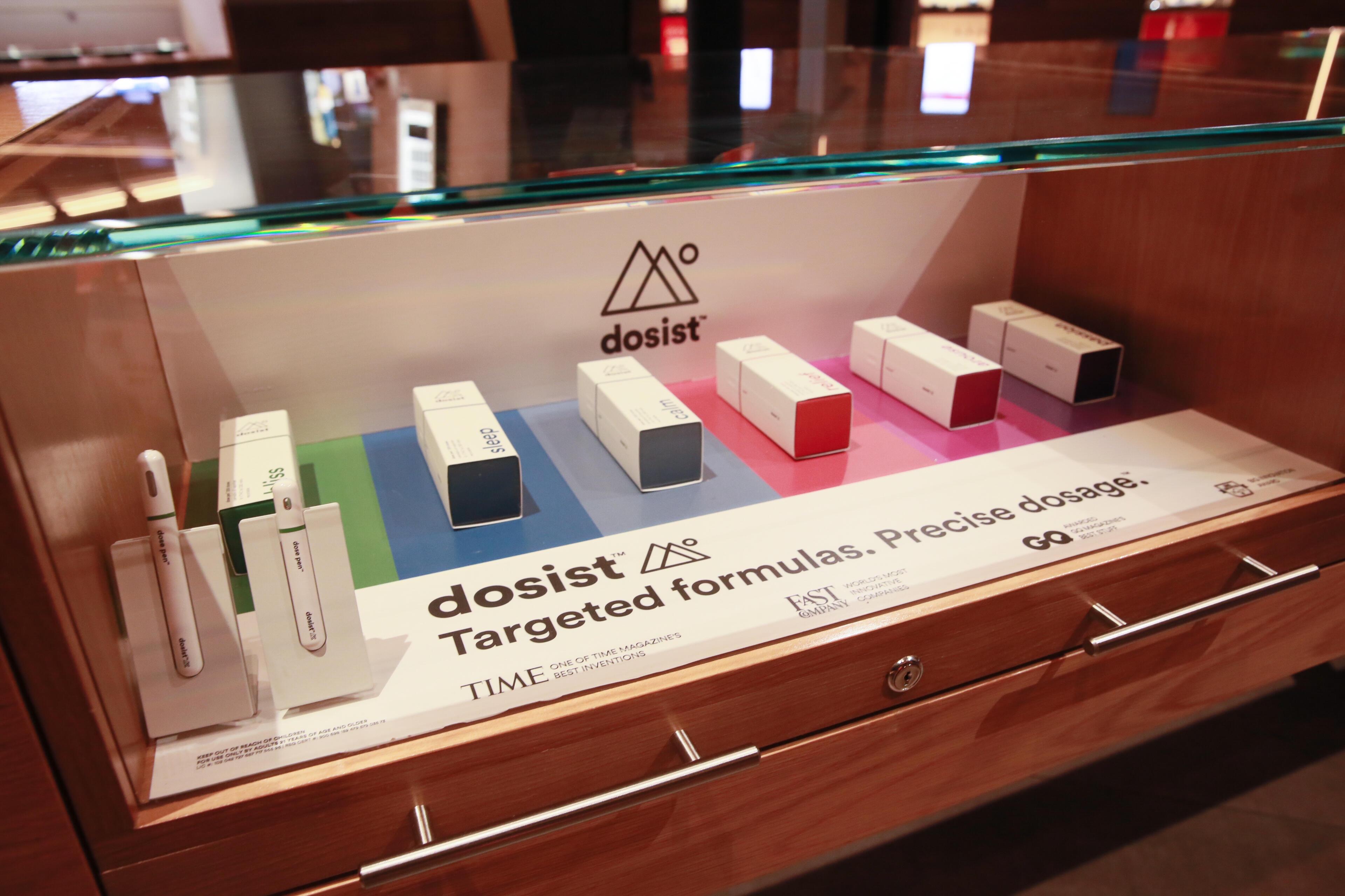 The Dosist was also pointed out to me as being pretty impressive technology. It can start out a user with lower doses and has various settings controlled through an app.