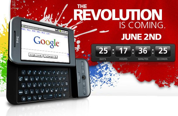 Rogers Wireless plans to release two Android phones, starting June 2.