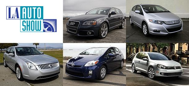 Green Car of the Year contestants
