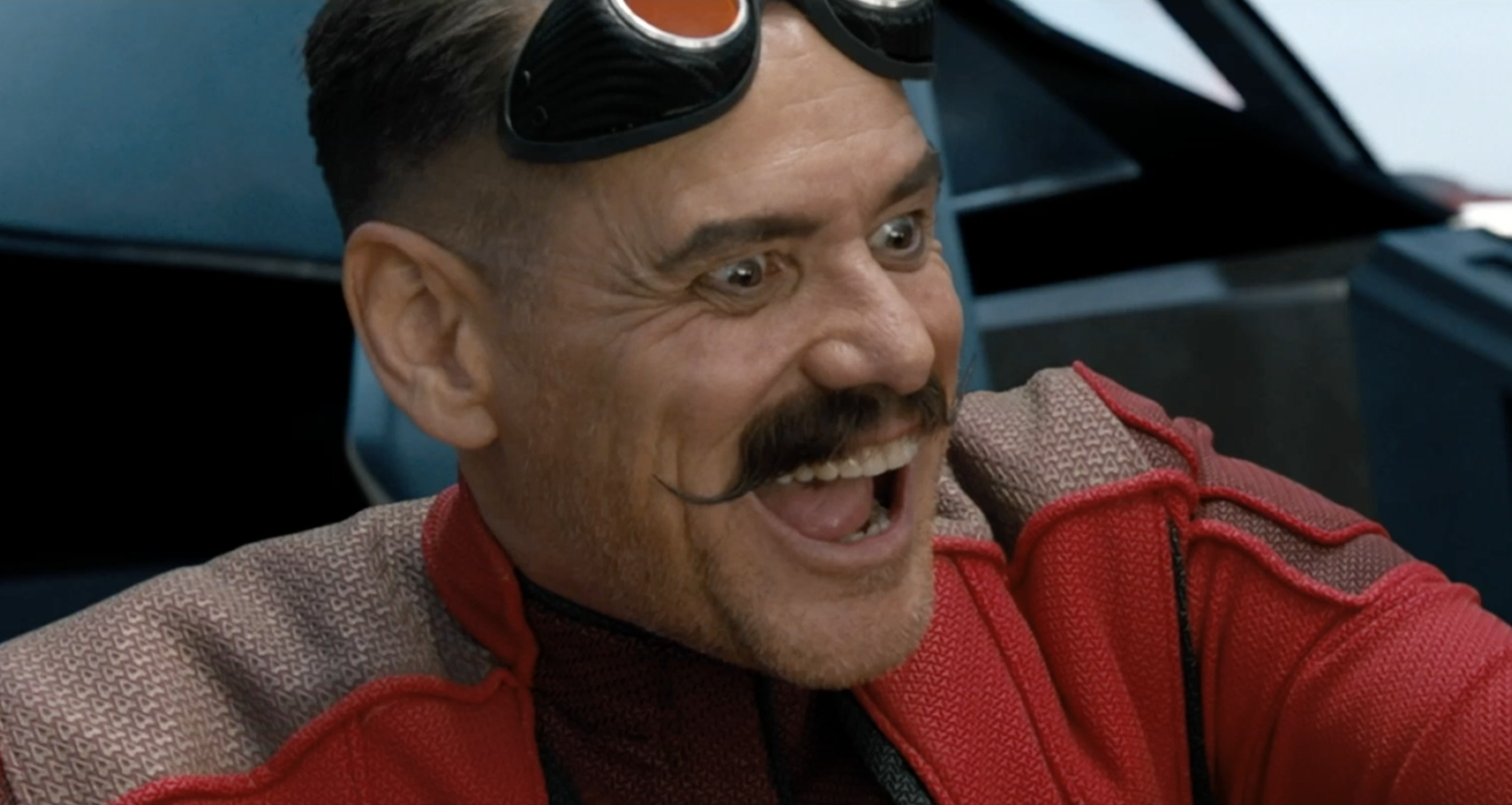 Video: Sonic the Hedgehog: Jim Carrey is jealous of Dr. Robotnik's 'ridiculous' moustache