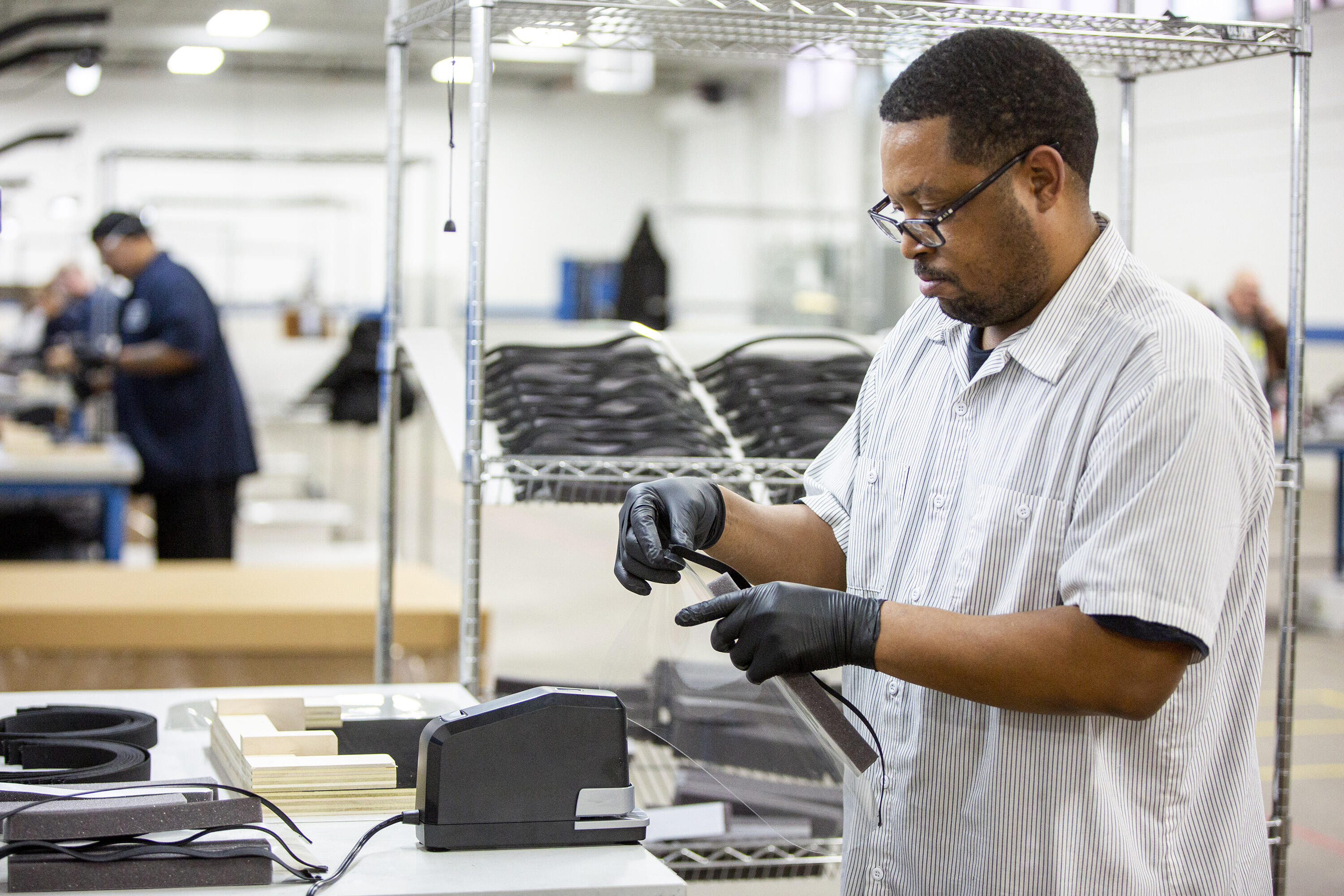 Ford builds PPE amid COVID-19 pandemic