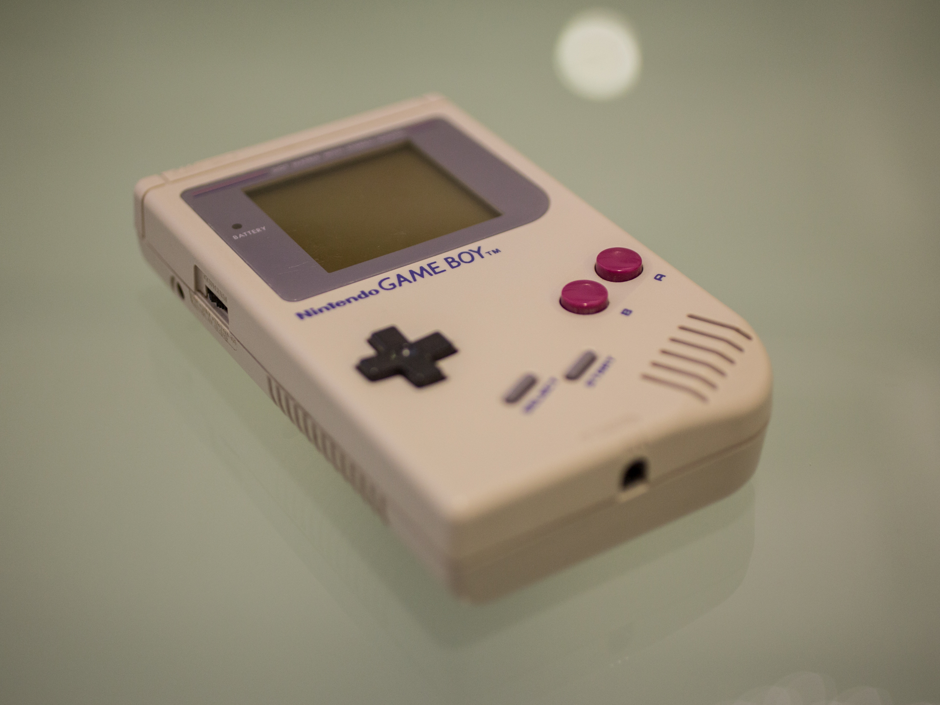 <p>Shigeru Miyamoto, creator of Mario and other video game characters for Nintendo, holds a Game Boy.</p>