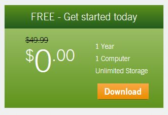 If you're eligible, you can get a one-year CrashPlan subscription free of charge.