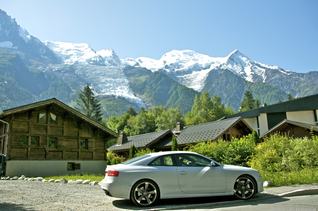 RS 5 and Mont Blanc