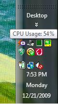 Task Manager icon in Windows' notification area