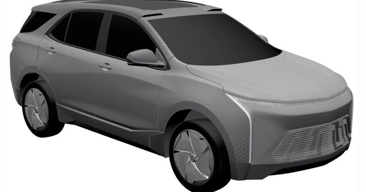 Might the Chevy Equinox go electric? Patent application image suggests so - Roadshow