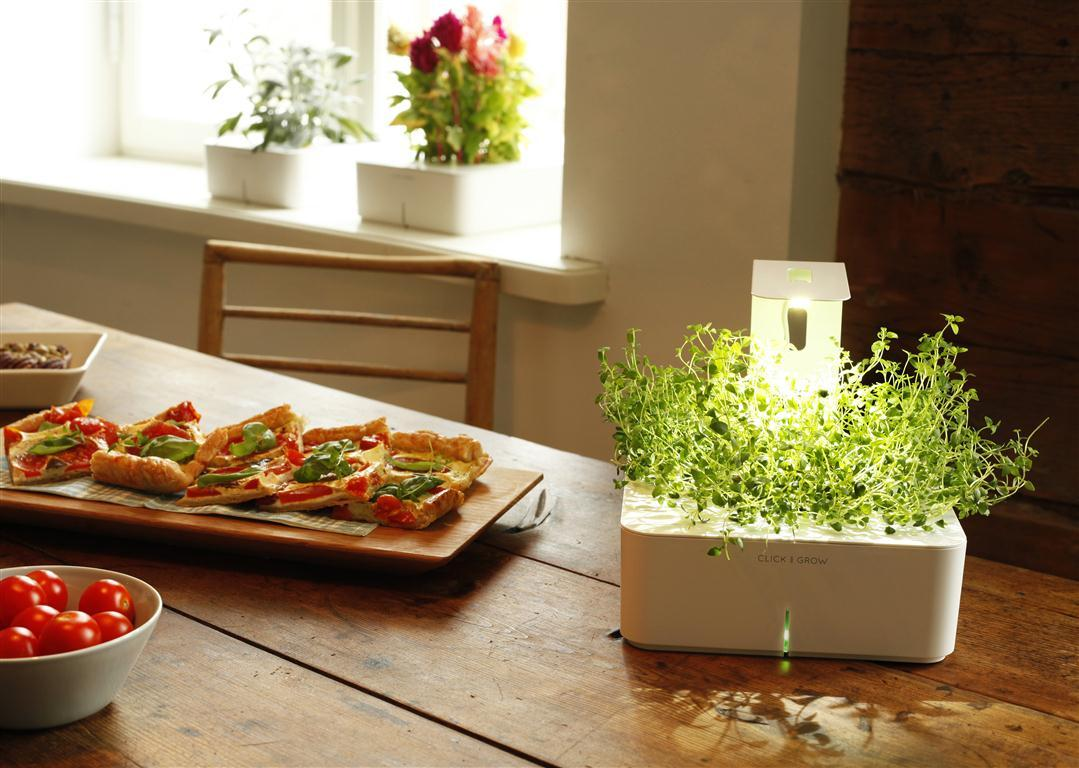 Spruce up the smart garden with the Grow Light from Click & Grow.