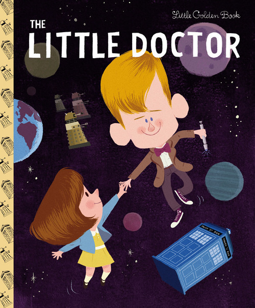"""""""Doctor Who"""" as Little Golden Book"""