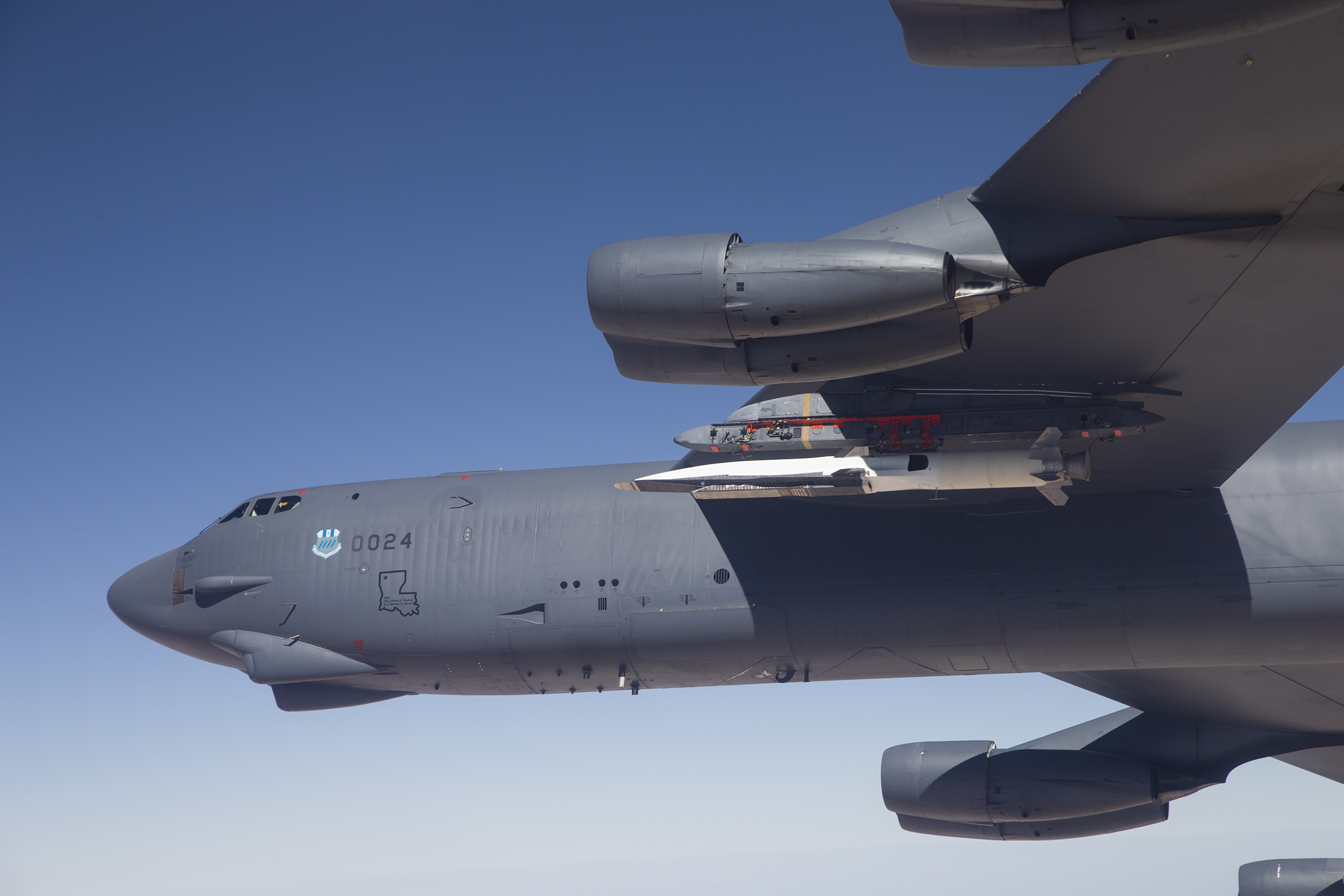 X-51A Waverider and B-52