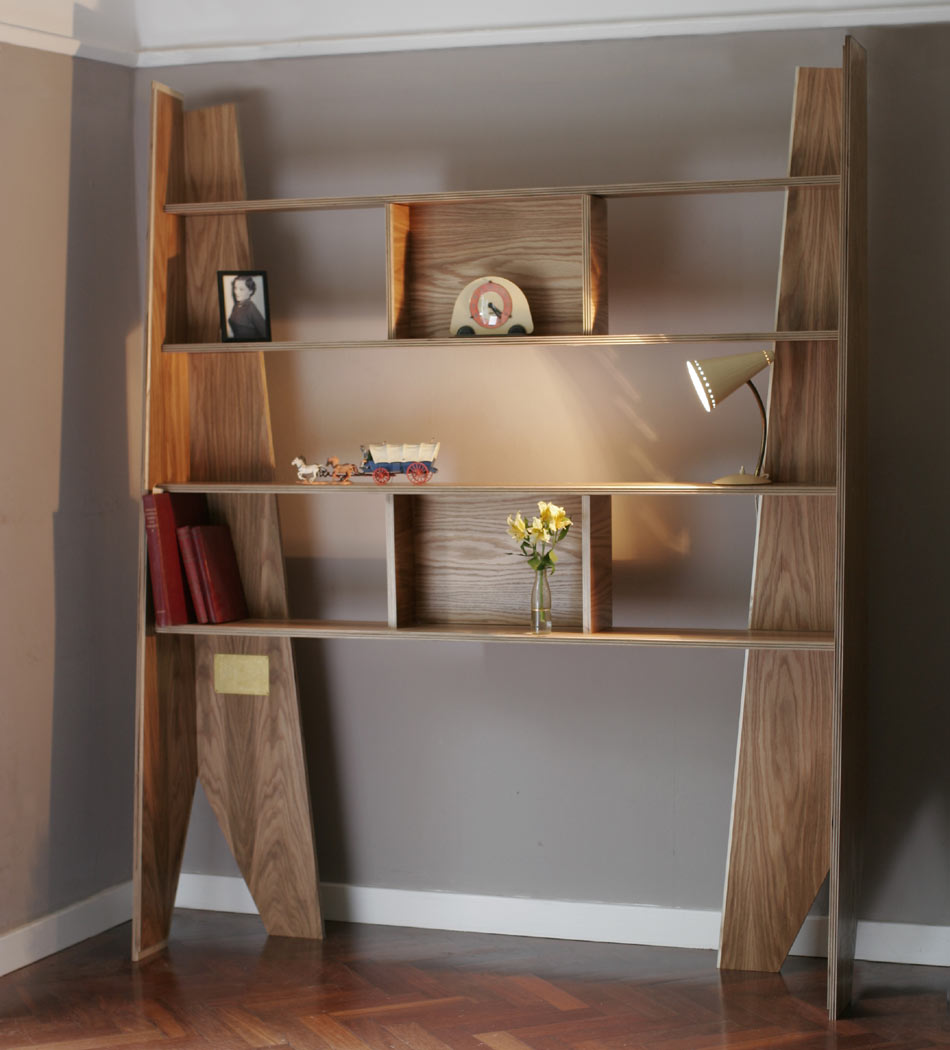 Shelves in life, coffin in death