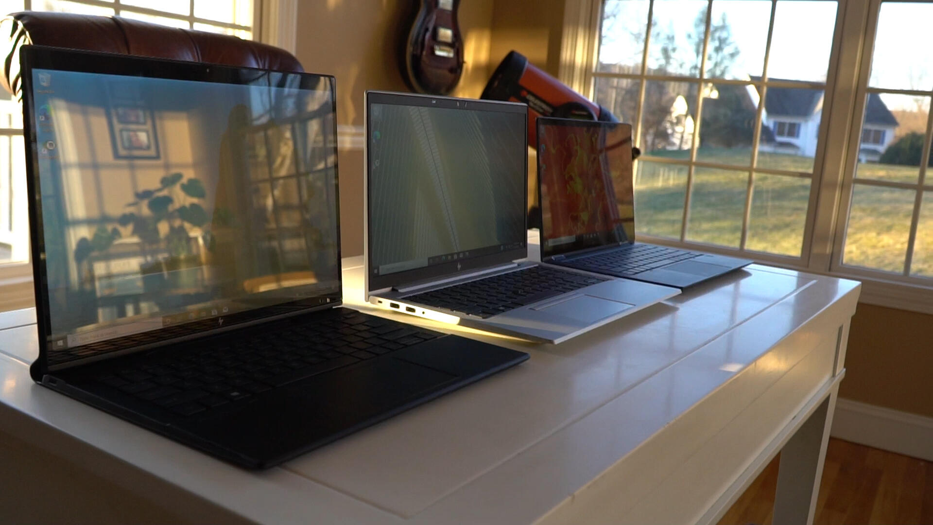 Video: HP's work laptops at CES 2021 are made for micro mobility