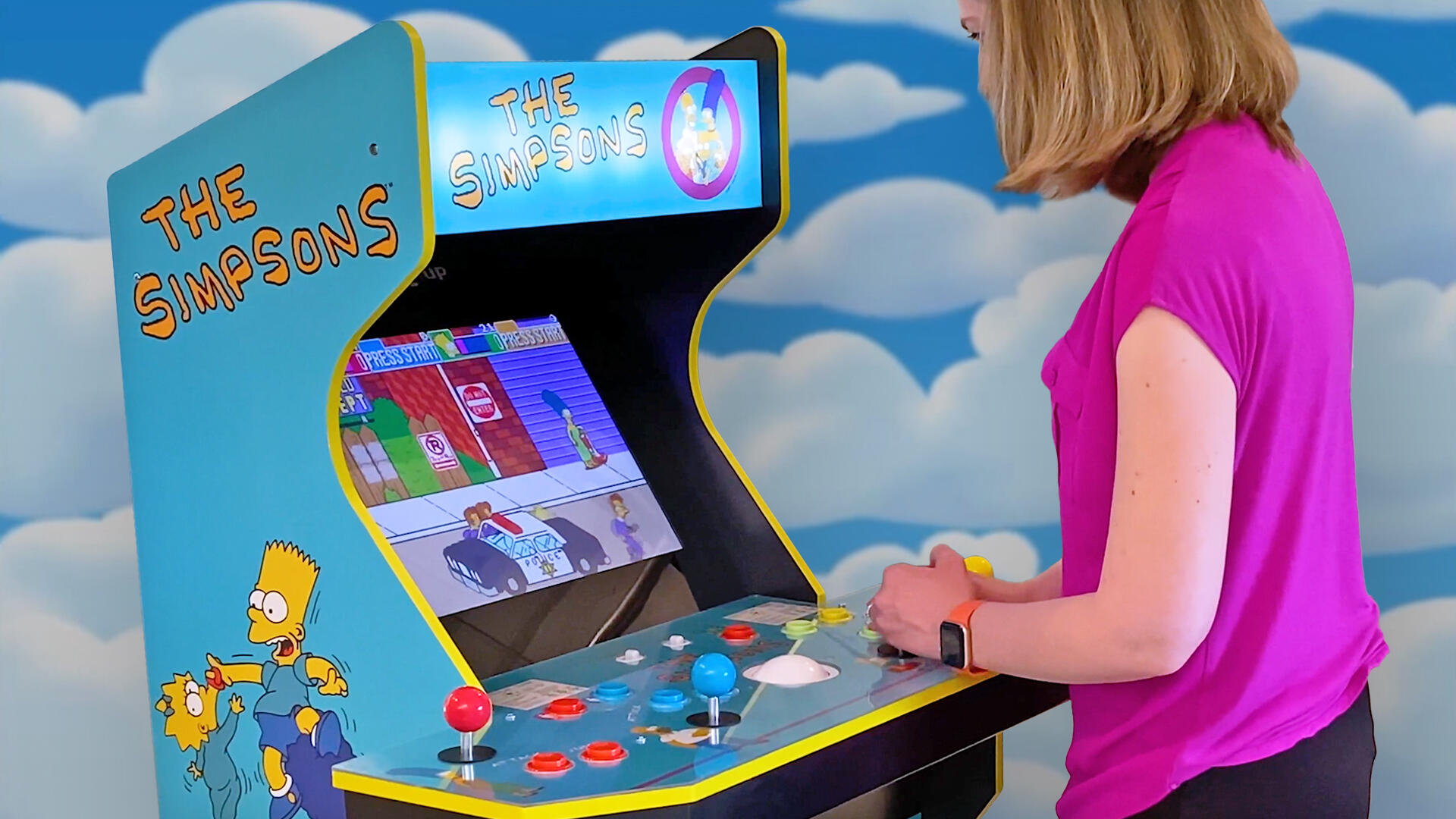 Video: Arcade1Up's Simpsons, X-Men hands on: Playing with 2021's new cabinets