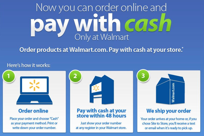 Walmart is now letting you pay with cash.