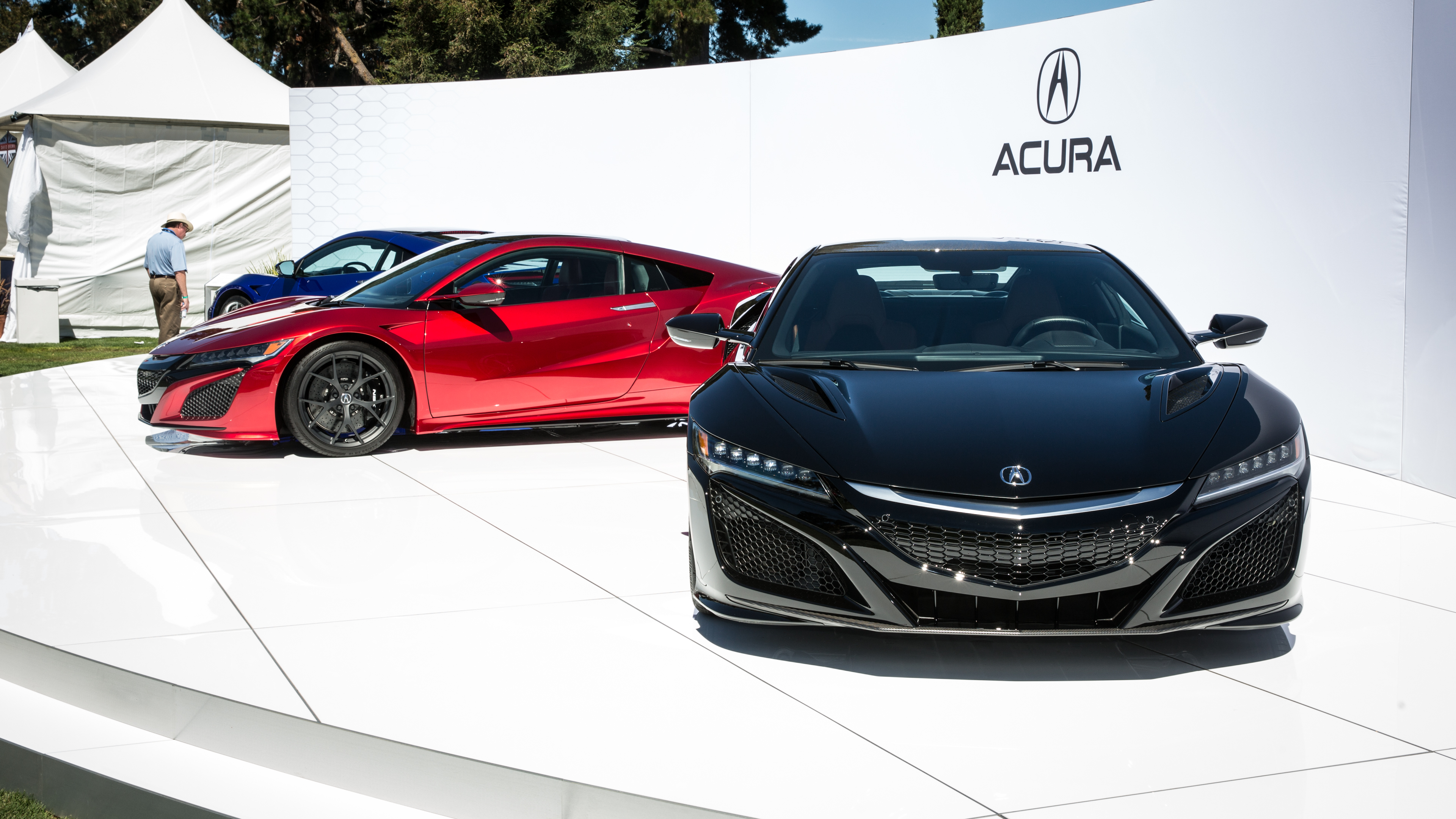 Acura NSX at 2015 Pebble Beach Concours