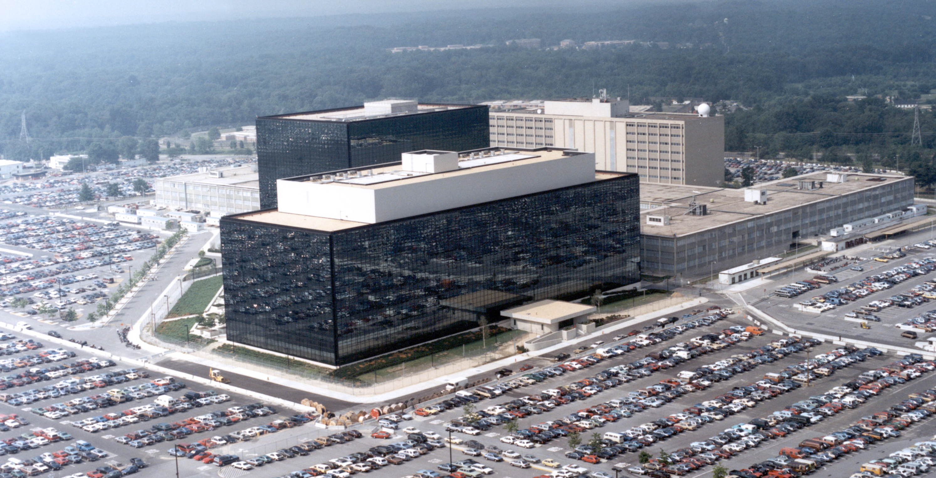 The National Security Agency's headquarters in Ft. Meade, Maryland, in an undated file photo.