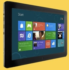 Windows RT tablets will use the Metro interface.