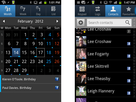 How to make your Samsung Galaxy S2 a social network powerhouse: step 3.1