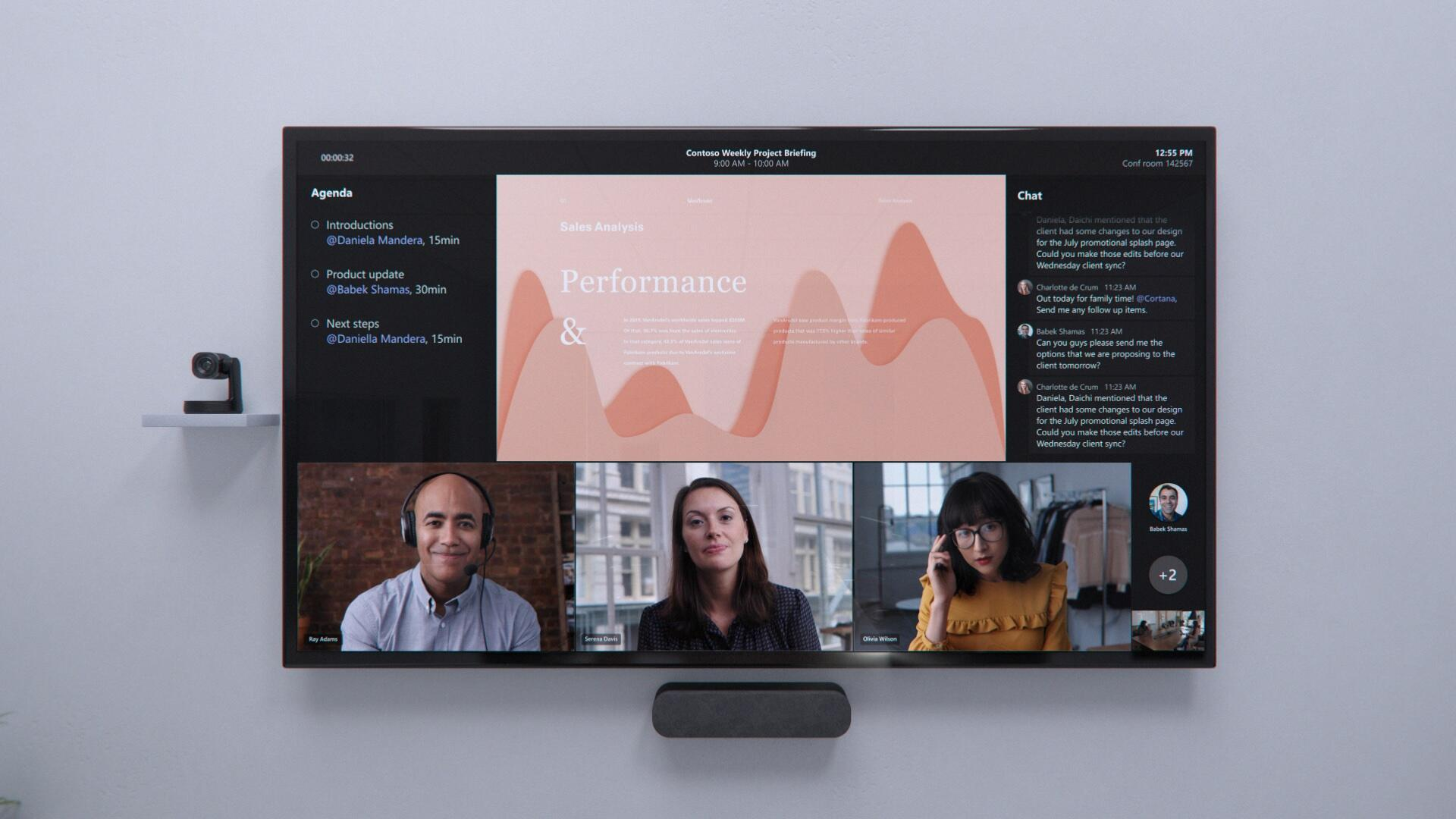 Microsoft Teams adds new features for easier meetings, whether you're in the office or remote