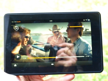 Amazon Kindle Fire video