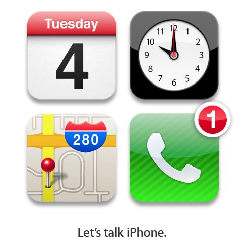 Apple plans to talk about the iPhone next week.