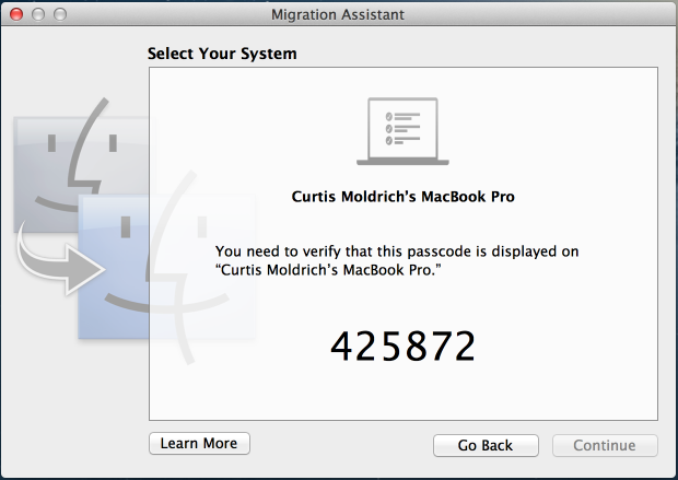 How to transfer data between Macs: 6