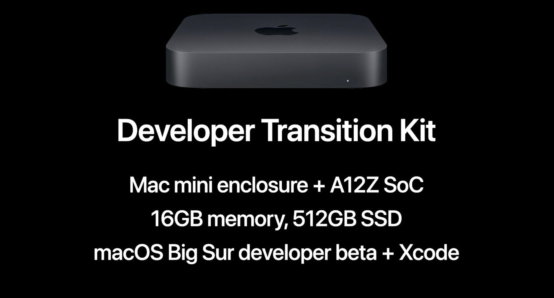 Mac Arm transition kit