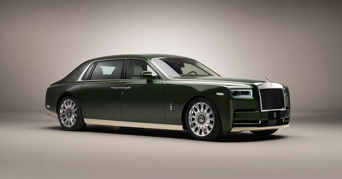 One-off Rolls-Royce Phantom Oribe is a gorgeous collab with Hermès ...