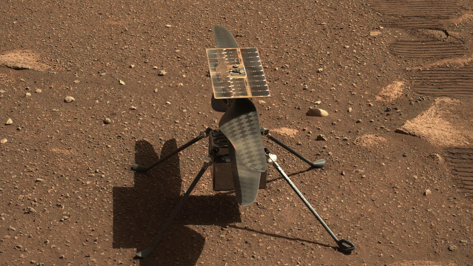 NASA  Mars helicopter prepares for a serious scouting mission