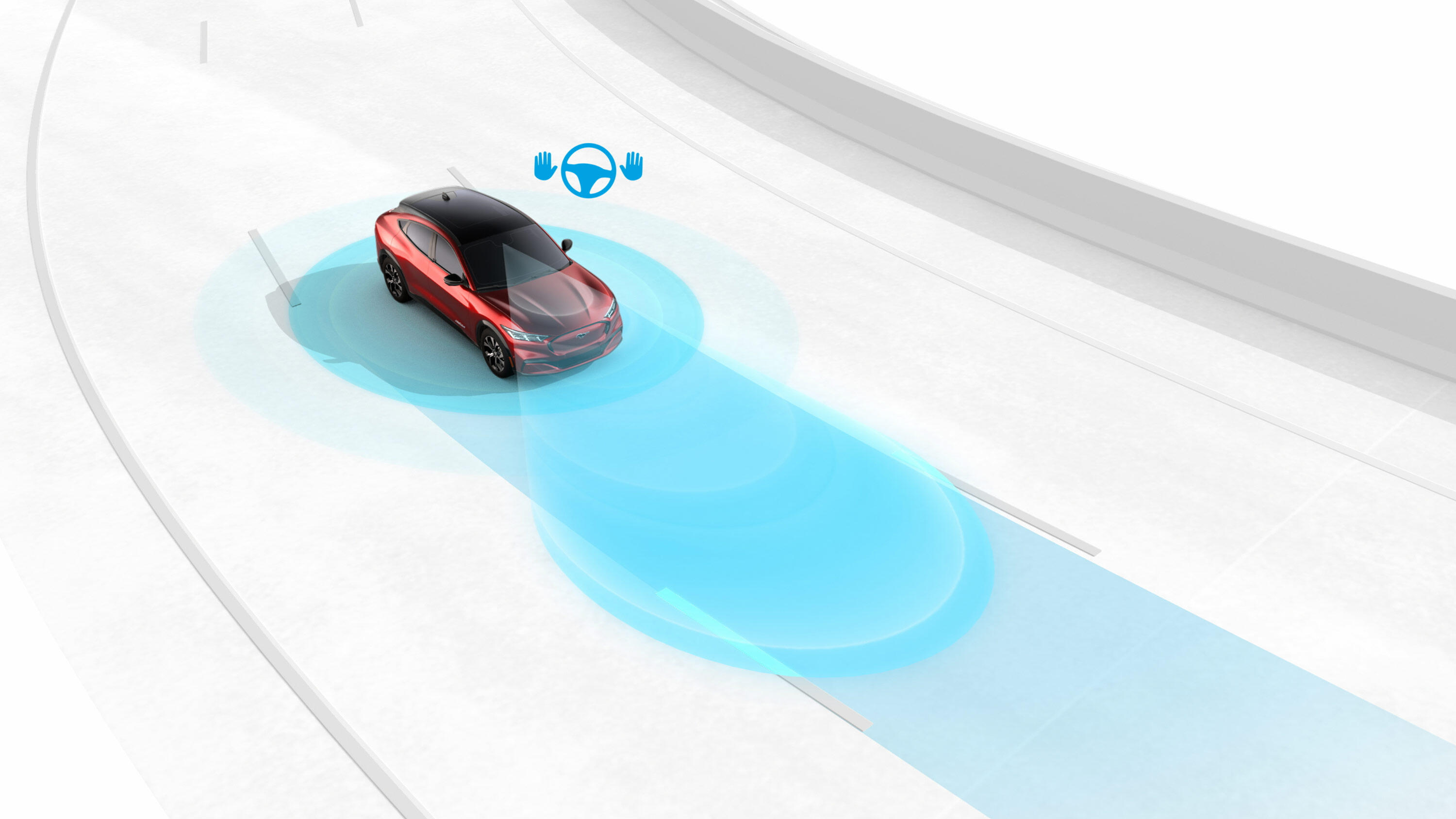 2021 Ford BlueCruise Hands Free Driving