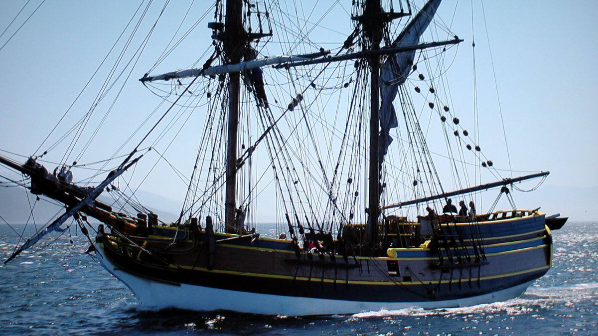 Spears and Munsil Sailing Ship
