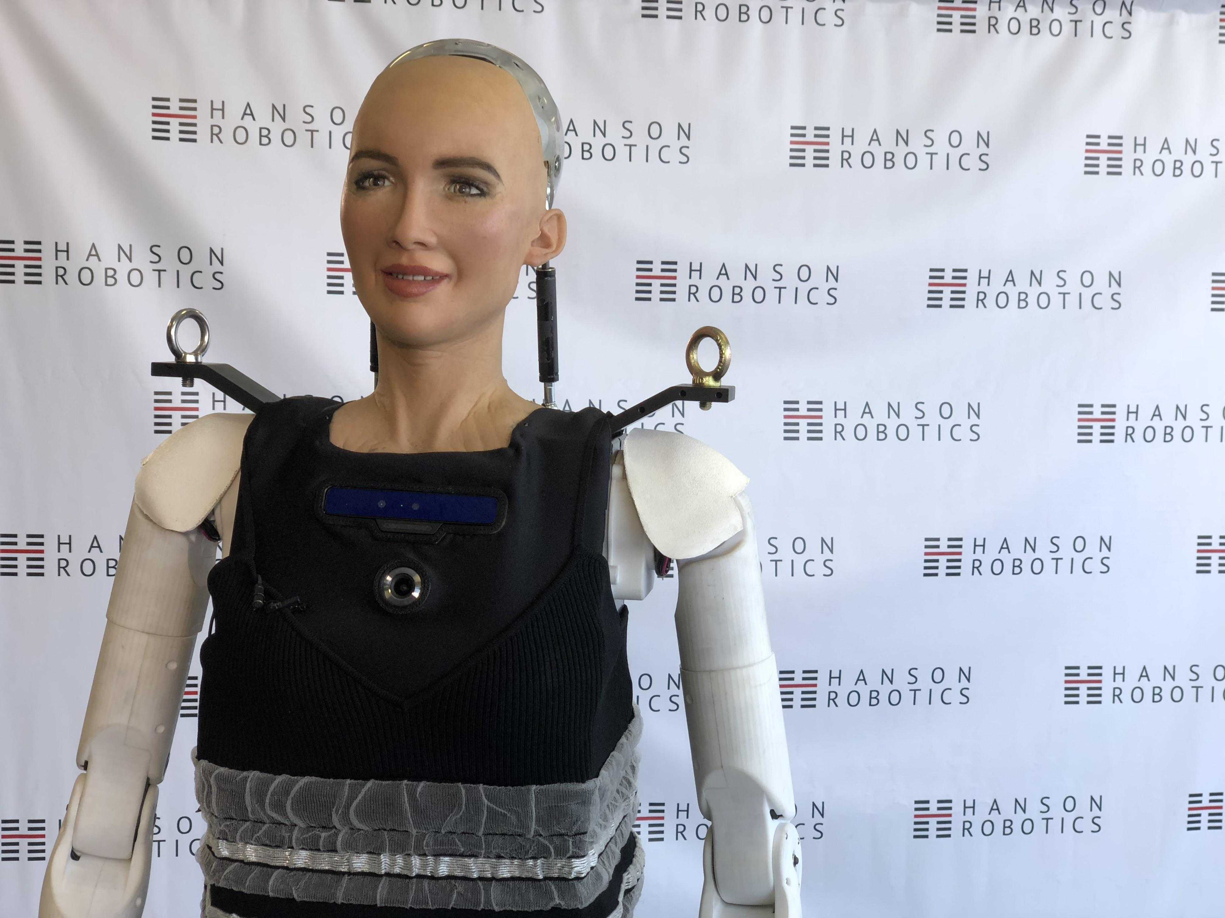 <p>With legs attached, Sophia is just shy of 6 feet tall.</p>