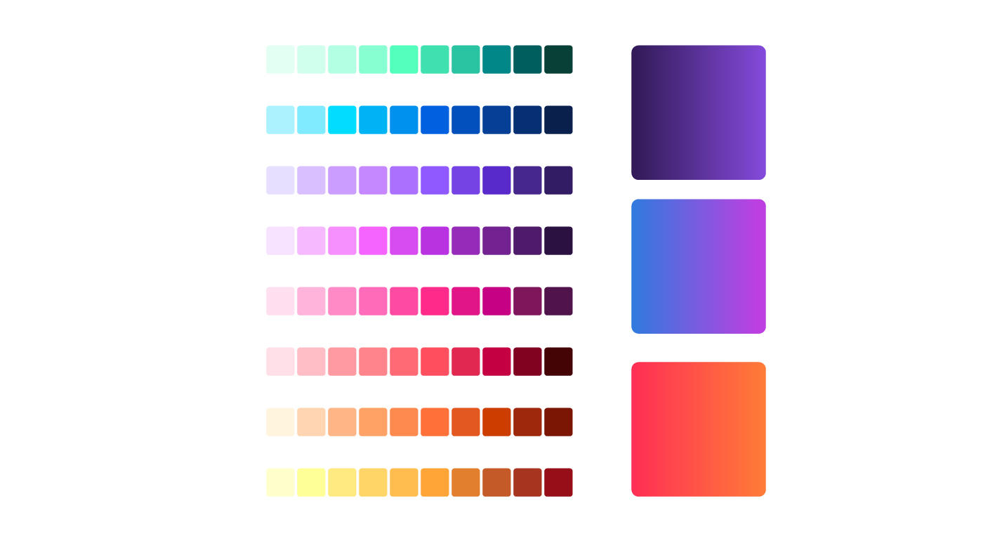 The new Firefox brand opens the door to some new color schemes. Mozilla likes the gradients.