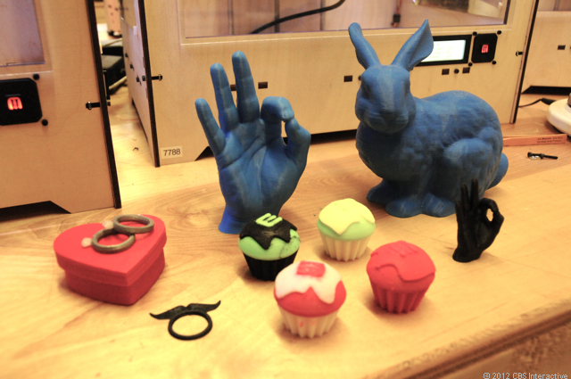 Selection of 3D printed items