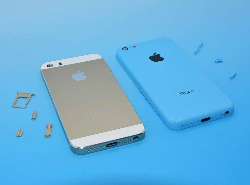 This purported image of an iPhone 5S and iPhone 5C side by side is just one in a growing abundance of leaks.
