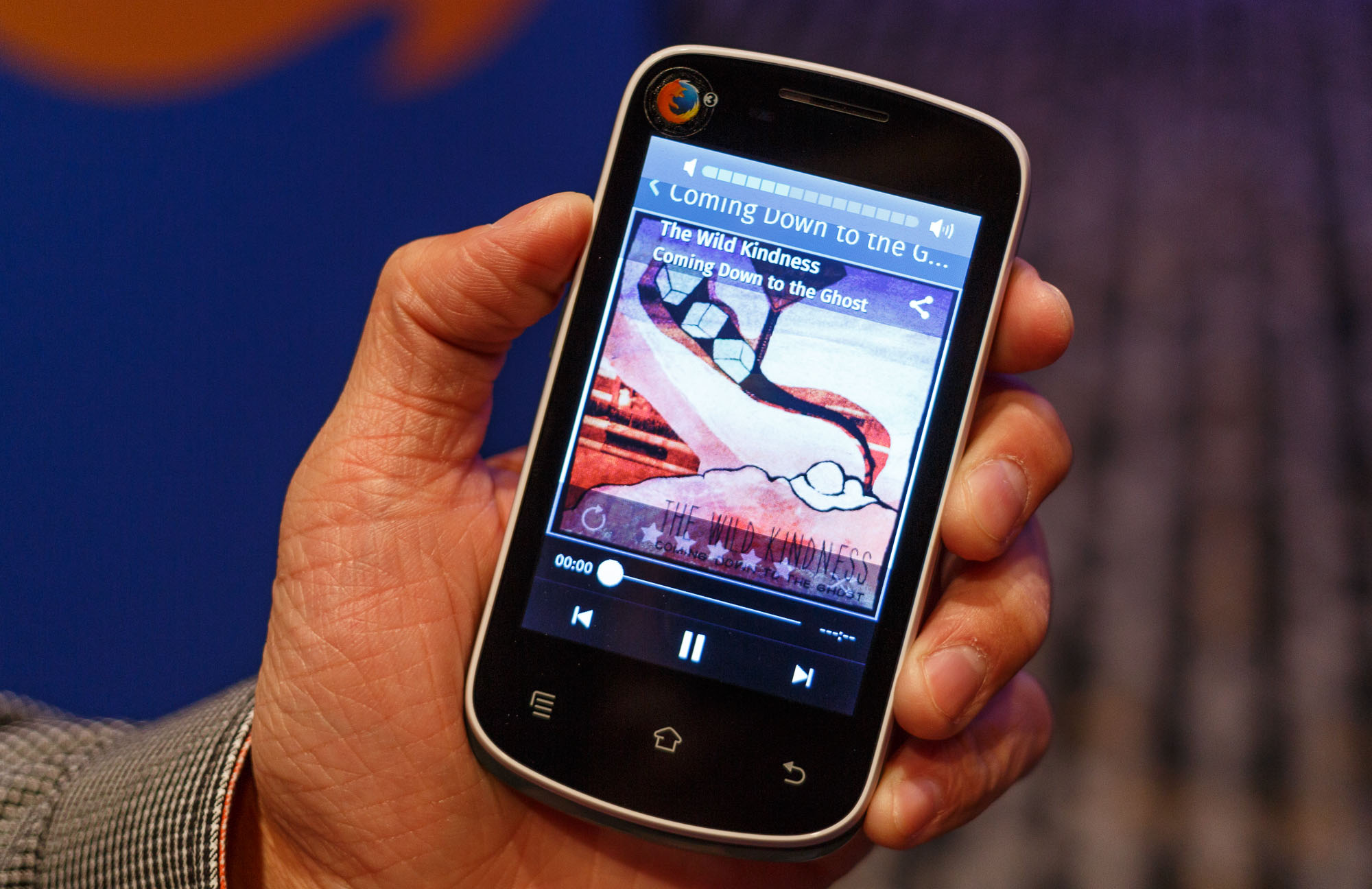 A Mozilla reference phone, built with Spreadtrum's processor, that ultimately will hit the market as a $25 device for customers who don't have the funds for higher-end phones.