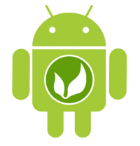 Android with OpenFeint logo