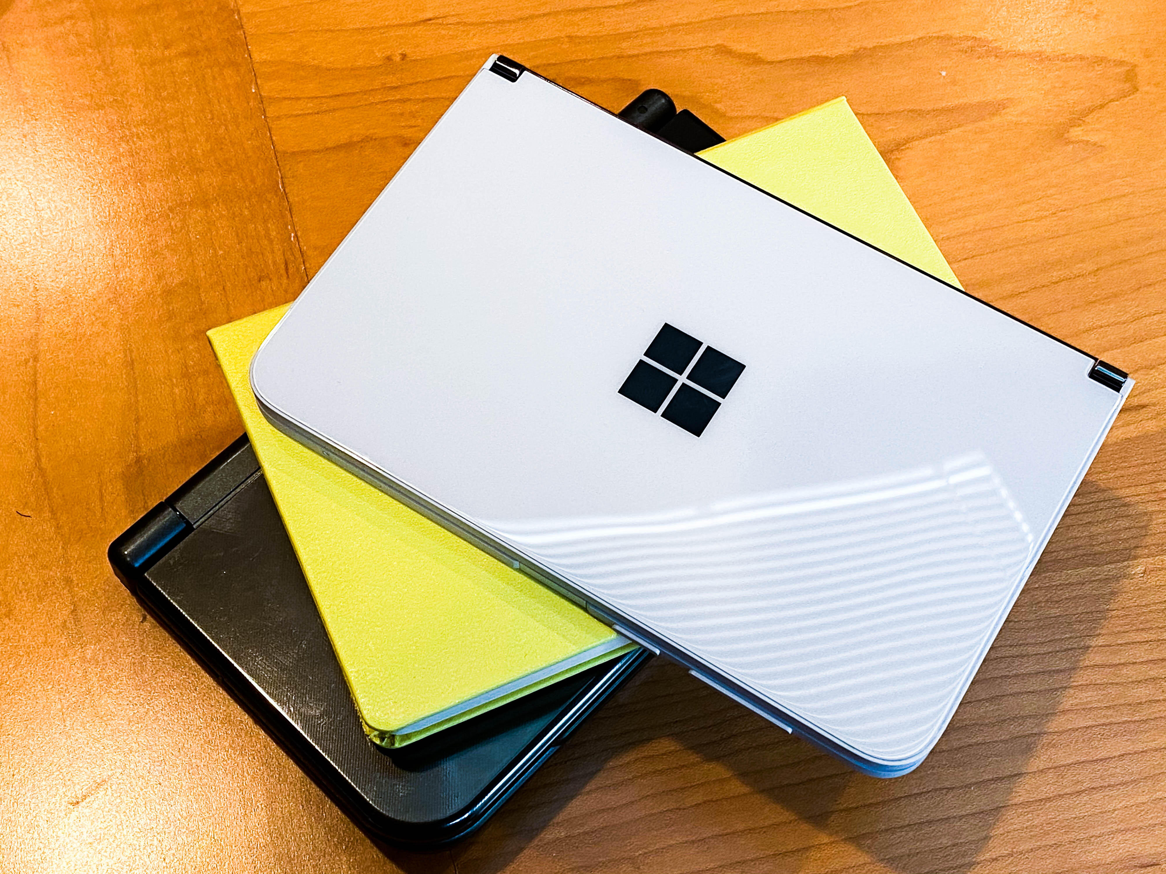 <p>Microsoft's rumored to be updating many of its Surface products, including its Duo phone.</p>