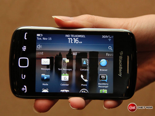 BlackBerry Curve 9380 touch screen