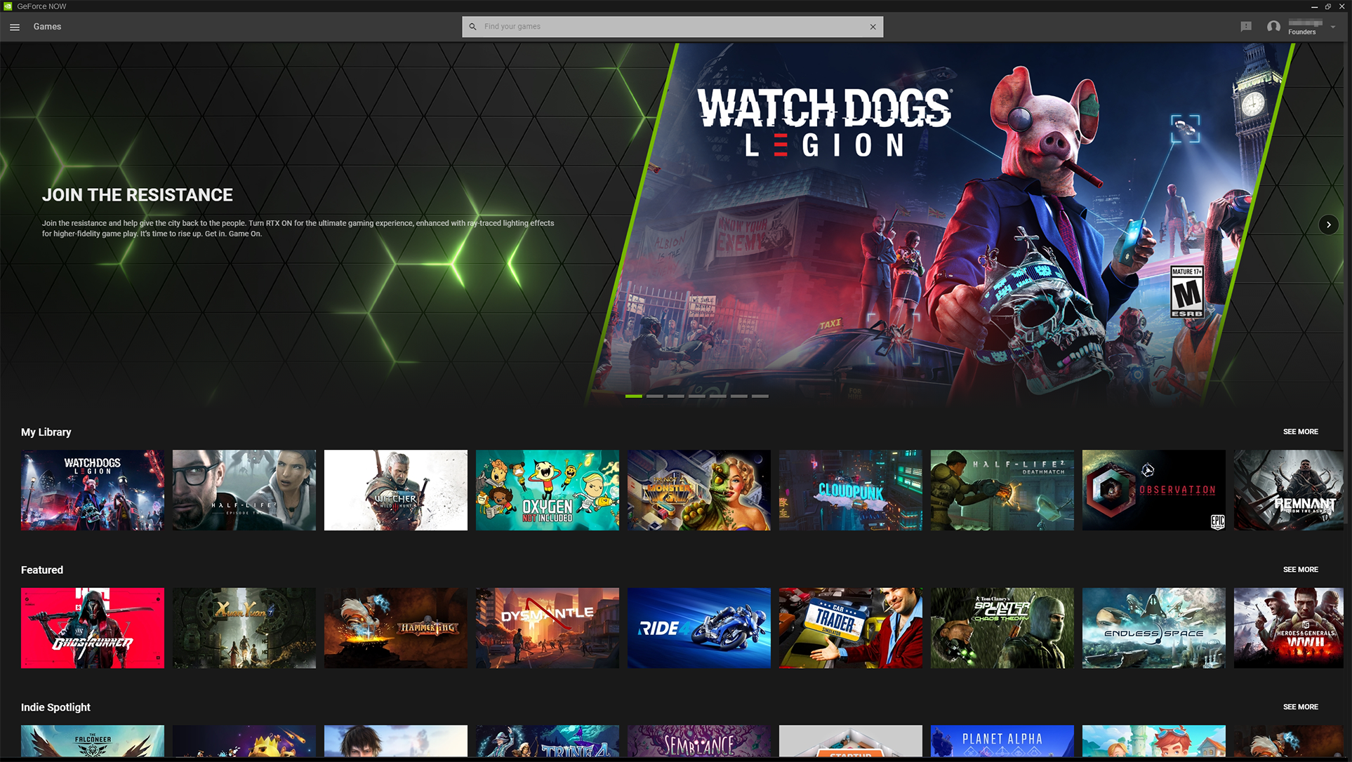 iPhone and iPad get game via Nvidia GeForce Now