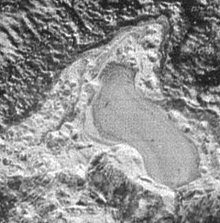 Pluto's possible pond