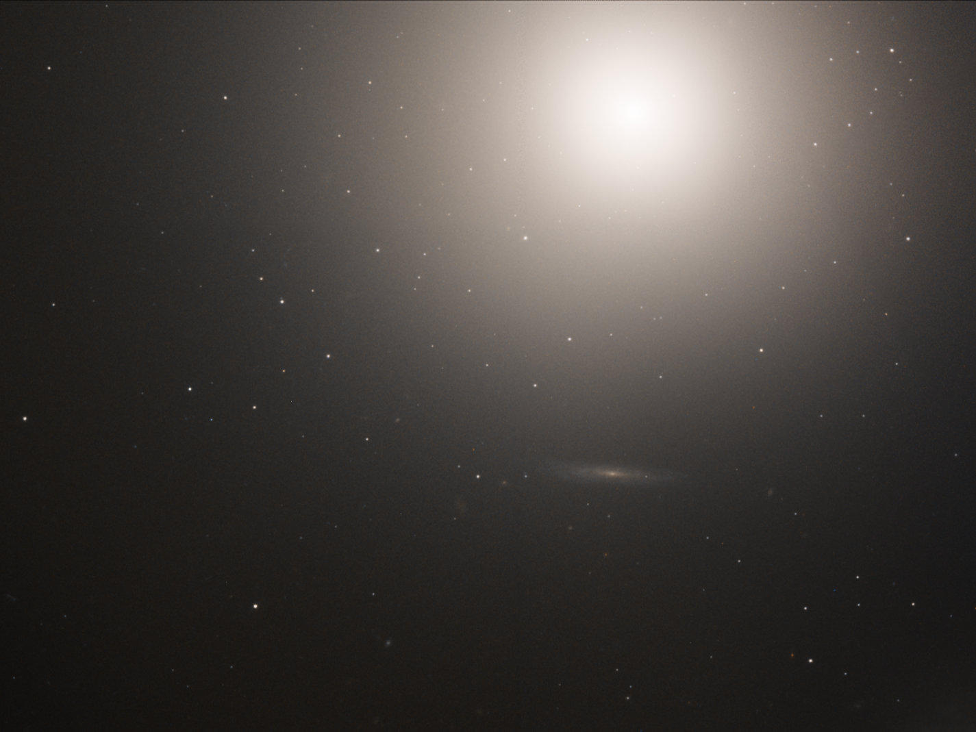 A galaxy discovered in 1781