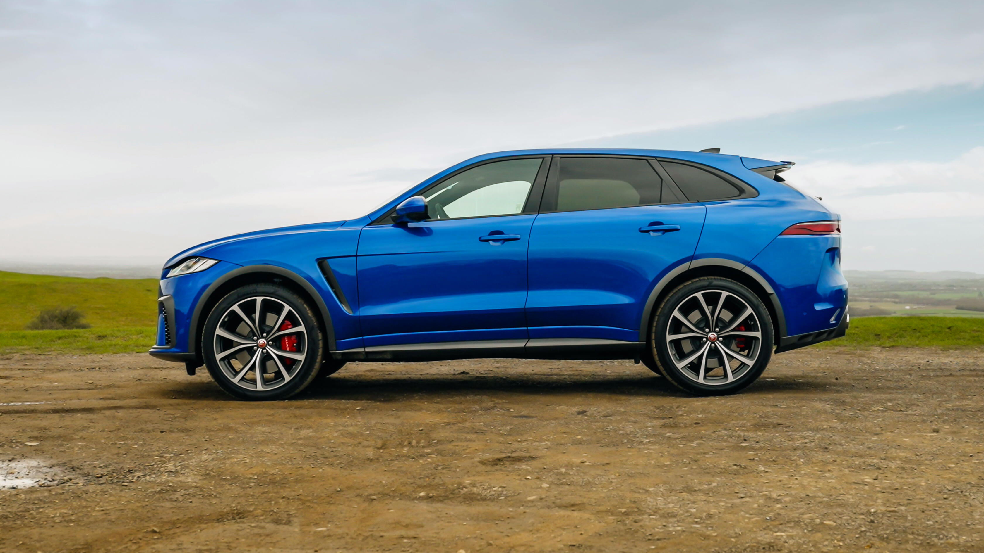 Video: The 2021 Jaguar F-Pace SVR might be the best-sounding SUV you can buy today