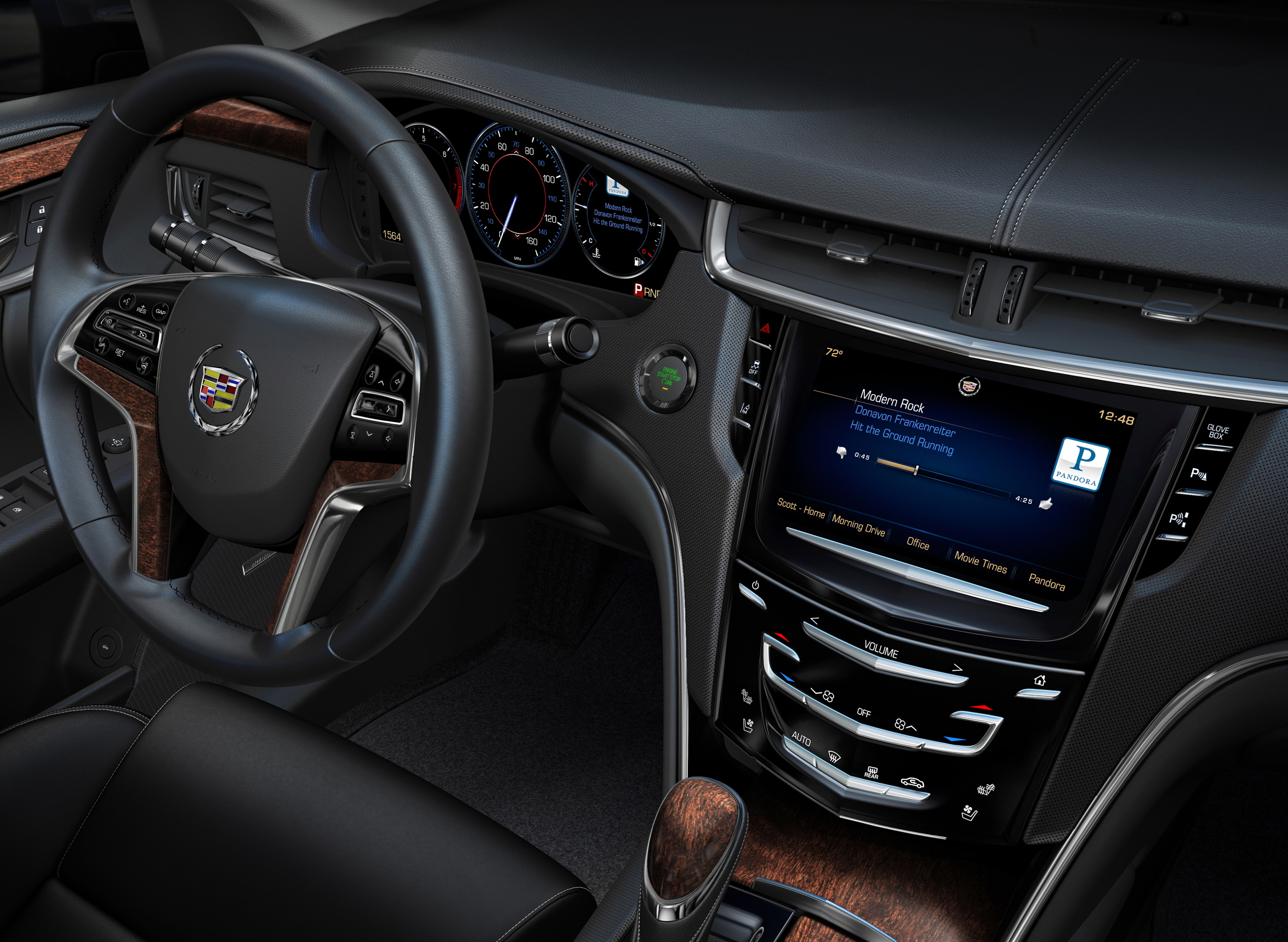 CUE stands for Cadillac User Experience.